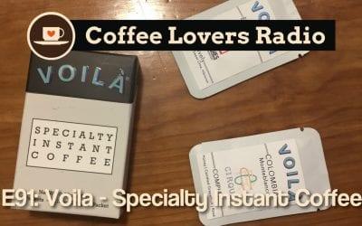 CLR-E91: Voila – Specialty Instant Coffee