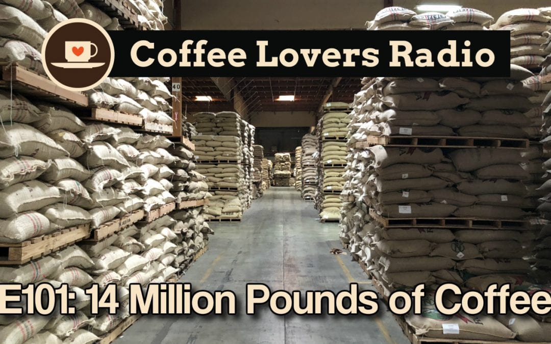 CLR-E101: 14 Million Pounds of Coffee