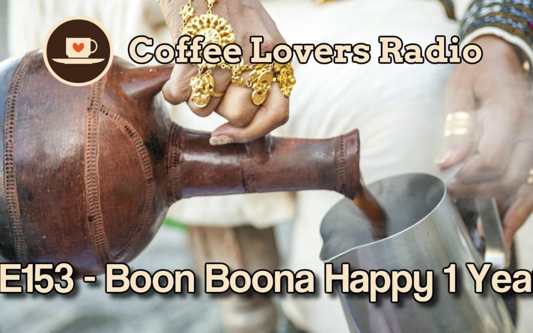 Boon Boona Coffee 1 Year anniversary